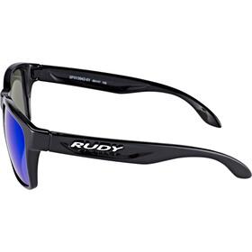 Rudy Project Spinhawk Glasses Black Gloss - RP Optics Multilaser Blue
